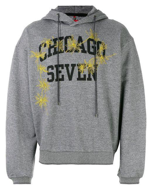 OAMC - Gray Chicago Seven Hoodie for Men - Lyst