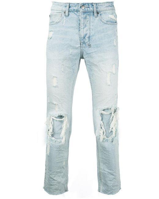 Ksubi | Blue Distressed Jeans for Men | Lyst