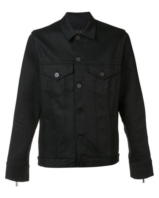 En Noir - Black Denim Rider Jacket for Men - Lyst