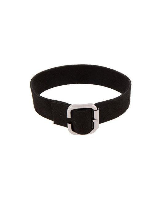 Manokhi - Black Buckled Collar - Lyst