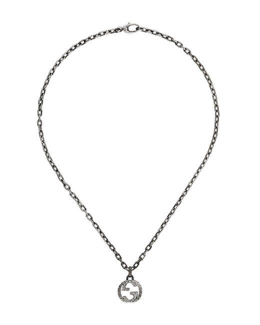 Gucci - Multicolor Halskette mit Logo-Anhänger for Men - Lyst