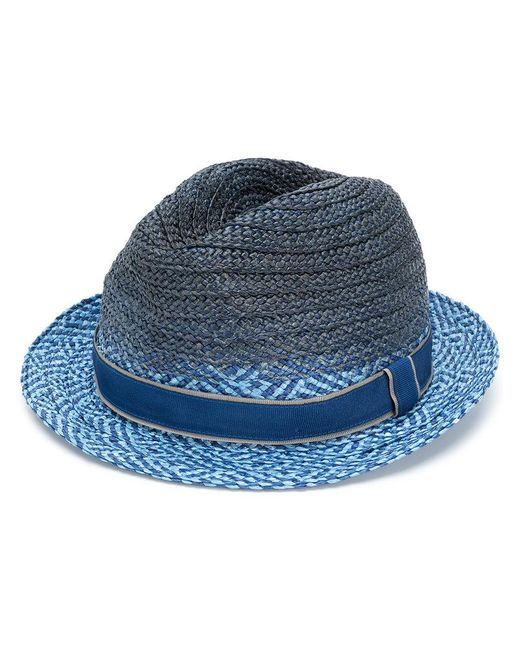 Paul Smith - Blue Straw Hat for Men - Lyst