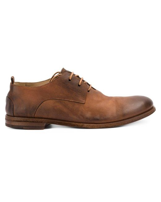 Marsèll - Brown Lace Up Derby Shoes for Men - Lyst ...