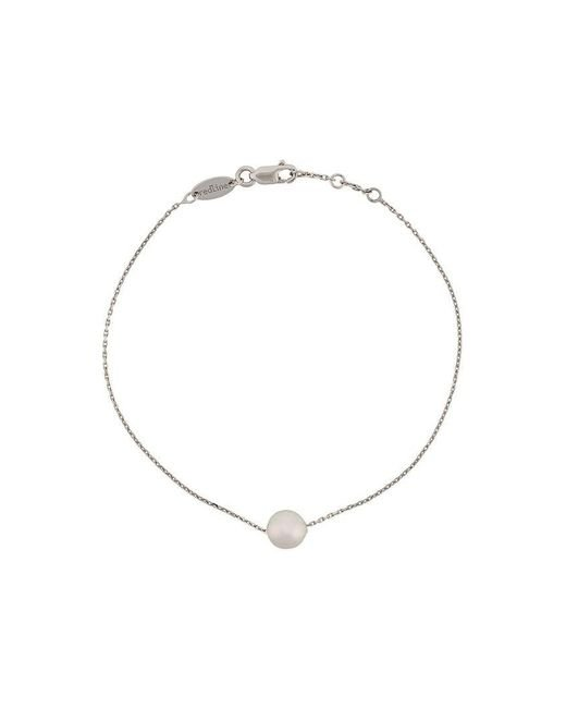 RedLine - Metallic Bracelet en or blanc 18ct et perles Akoya - Lyst