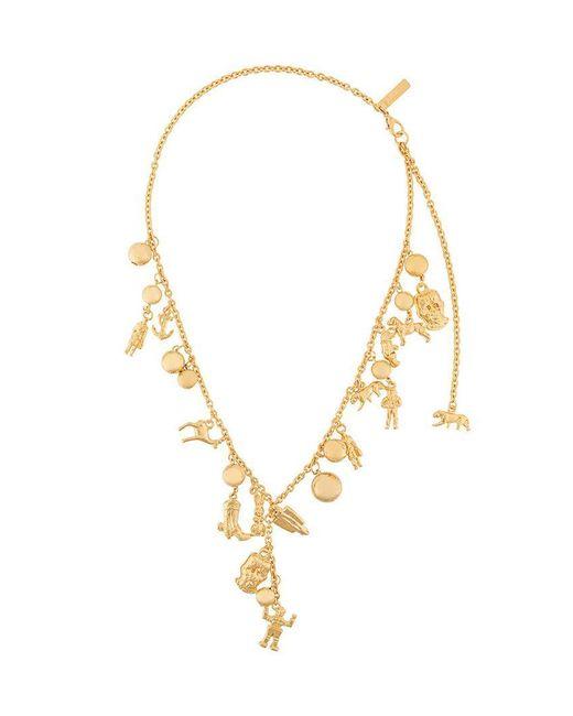Marni - Metallic Charm Necklace - Lyst