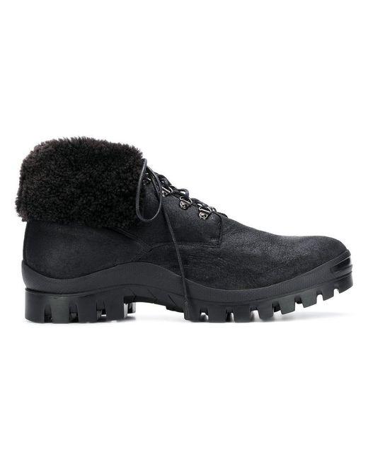 Henderson - Black Foldable Ankle Boots for Men - Lyst
