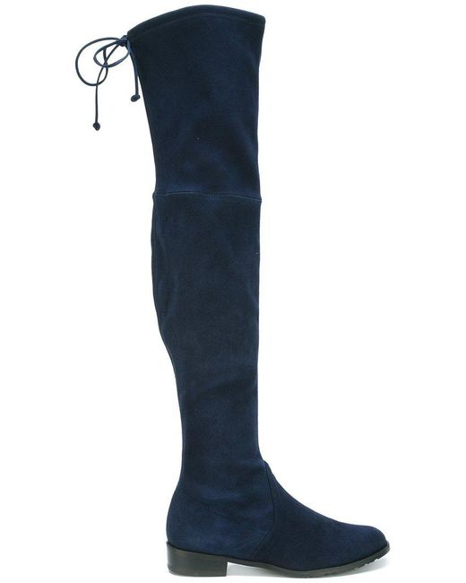 Stuart Weitzman - Natural 'lowland' Over The Knee Boot - Lyst