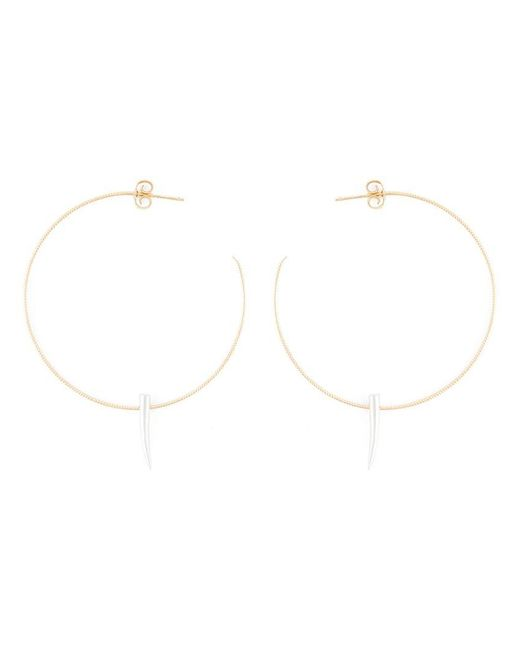 Wouters & Hendrix | Metallic Spiked Hoop Earrings | Lyst
