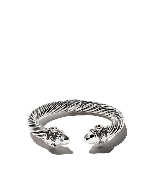 David Yurman - Metallic Renaissance Cable Cuff Bracelet - Lyst