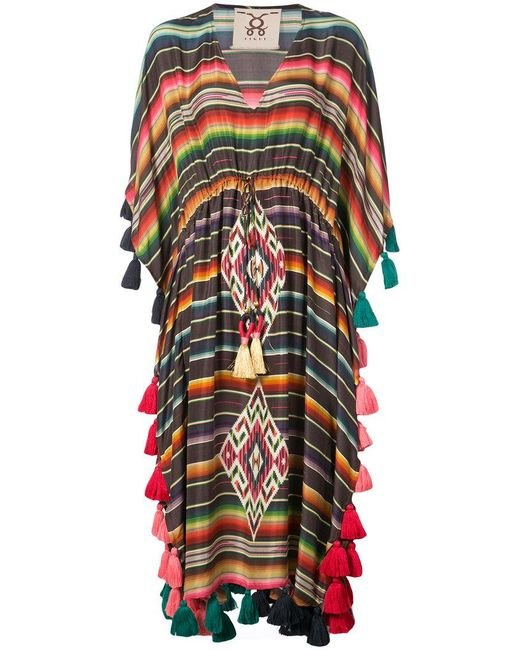 Figue - Multicolor Amrita Striped Tassel Kaftan - Lyst