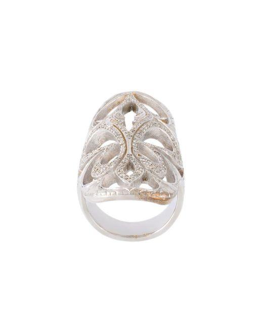 Loree Rodkin - Metallic Xl Cigar Band Diamond Ring - Lyst