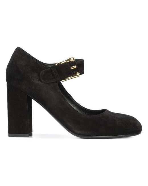 Co. | Black Buckled Pumps | Lyst