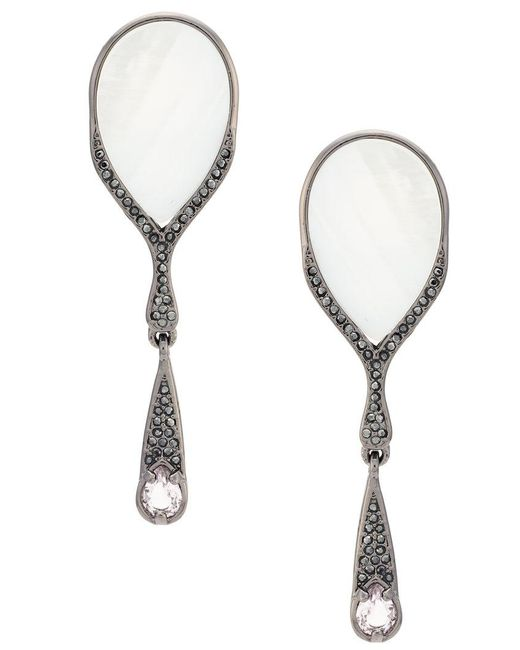 Camila Klein - Metallic Madre Ouro Earrings - Lyst