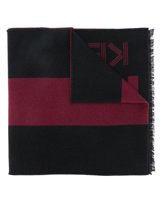KENZO - Red Sport Stole Scarf - Lyst
