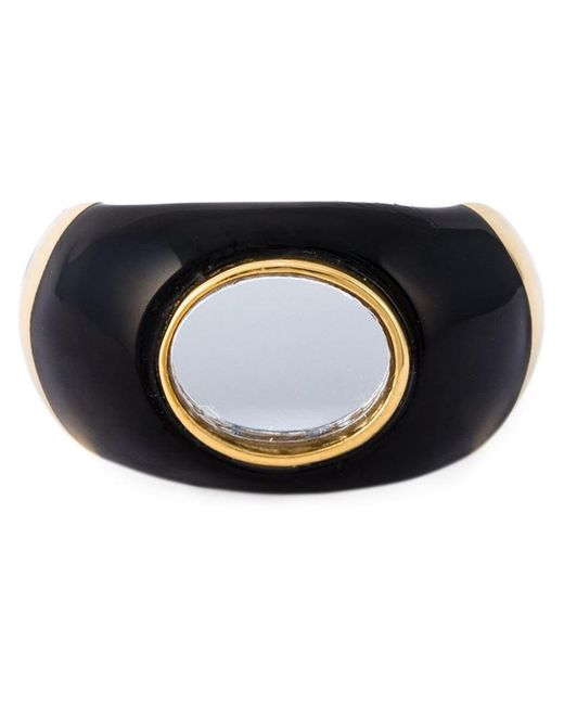 Aurelie Bidermann | Metallic 18kt Gold Plated 'diana' Ring | Lyst