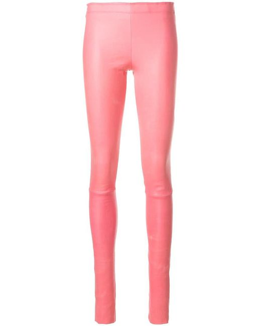 Stouls - Pink Skinny Trousers - Lyst