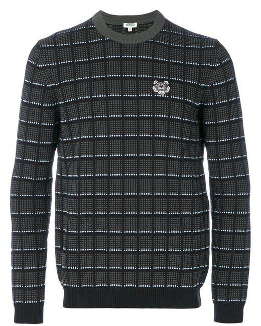 KENZO | Green Tiger Sweatshirt for Men | Lyst