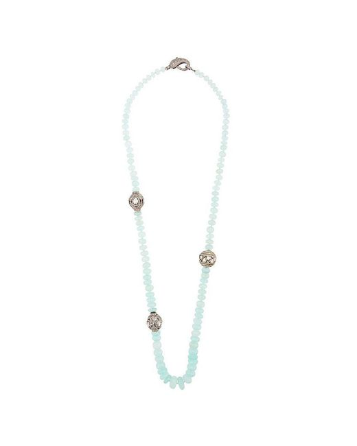 Loree Rodkin - Blue Chalcedony Quartz Beaded Necklace - Lyst