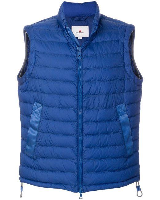 Peuterey - Blue Padded Vest for Men - Lyst