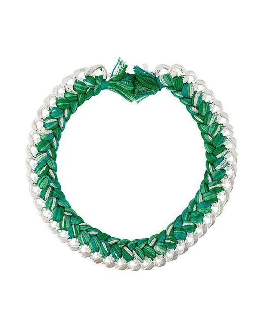 Aurelie Bidermann - Green 'do Brasil' Necklace - Lyst