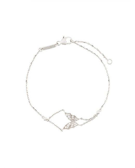 Stephen Webster - Metallic 18kt White Gold Fly By Night Butterfly Diamond Bracelet - Lyst