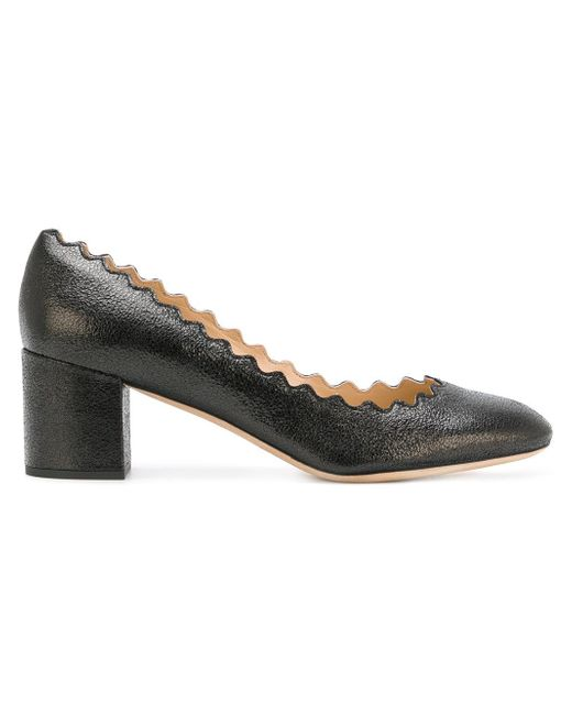 Chloé Black Lauren Pumps