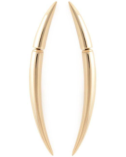 Shaun Leane - Metallic 'quill' Earrings - Lyst
