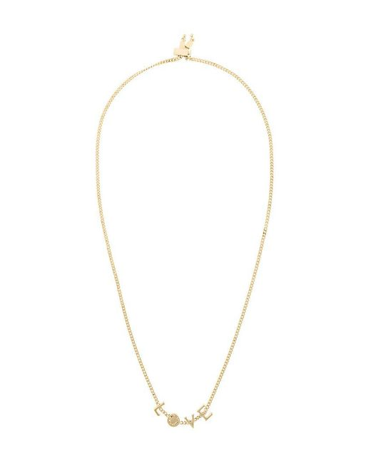 Chloé | Metallic 'love' Necklace | Lyst