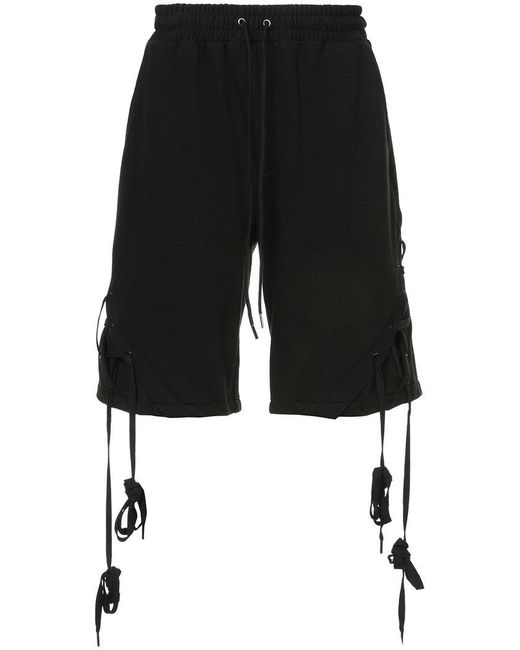 D.GNAK - Black X-string Shorts for Men - Lyst