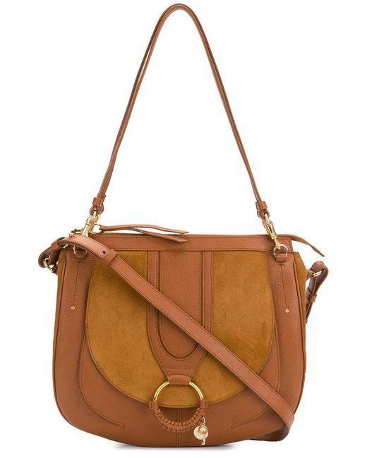 See By Chloé - Brown Hana Large Shoulder Bag - Lyst