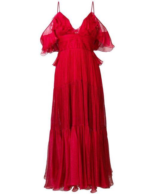 Maria Lucia Hohan - Red Majda Dress - Lyst