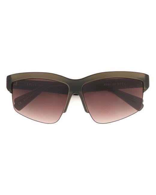 Dion Lee - Green Matte Sunglasses - Lyst