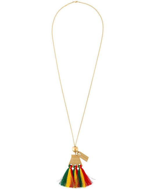 Chloé - Multicolor Janis Pendant Necklace - Lyst