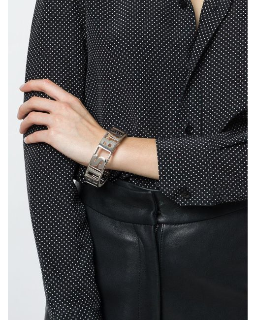 signature cuff bracelet - Metallic Balmain DhwEj