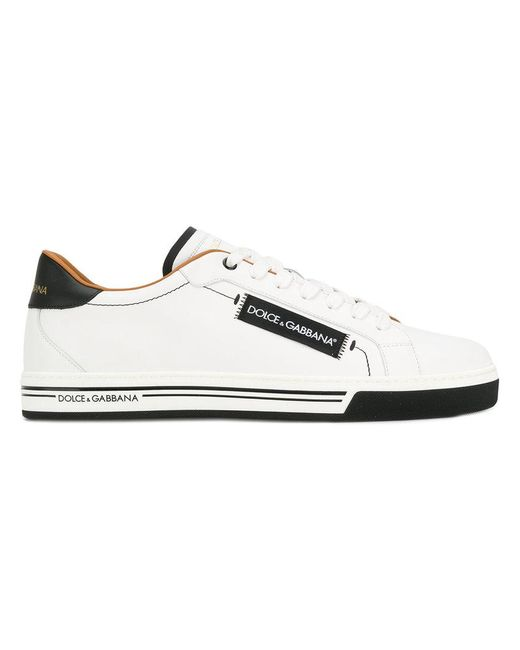 Dolce & Gabbana - White Classic Sneakers for Men - Lyst