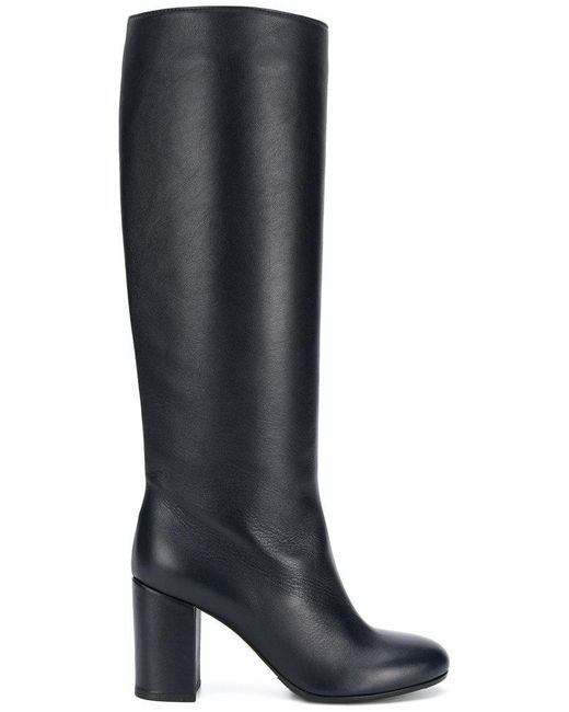 Societe Anonyme - Blue Seamless Knee Length Boots - Lyst
