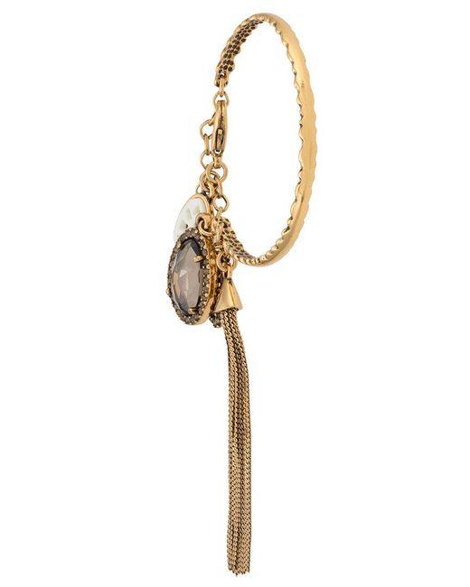 Camila Klein - Metallic Tassel Bracelet - Lyst