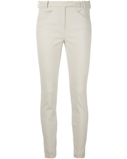 Loro Piana | Natural Slim-fit Trousers | Lyst