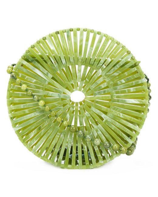Cult Gaia - Green Luna Shoulder Bag - Lyst