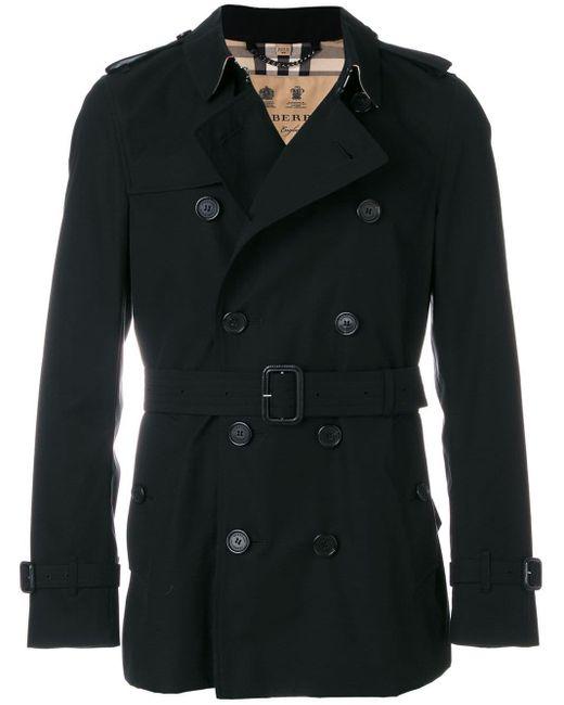 Burberry Black The Sandringham – Short Trench Coat for men