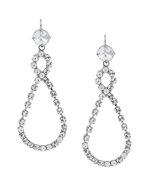Miu Miu - Metallic Infinity Drop Earring - Lyst