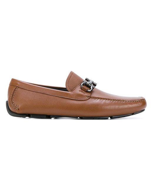 Ferragamo - Brown Parigi Loafers for Men - Lyst