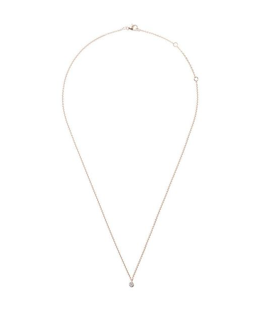 De Beers - Metallic 18kt Rose Gold My First One Diamond Pendant Necklace - Lyst