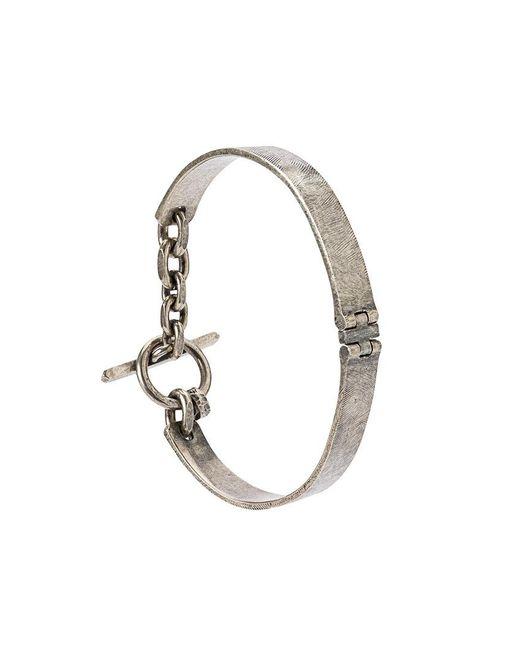 Tobias Wistisen - Metallic Mechanic Cross Bracelet for Men - Lyst