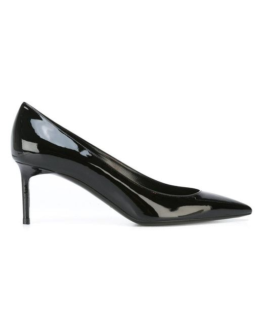 Saint Laurent | Black Anja 65 Pumps | Lyst
