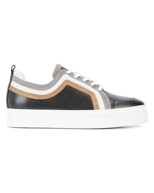 Pierre Hardy | Black Campus 2 Sneakers for Men | Lyst