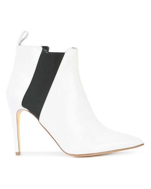 Rupert Sanderson - White Pointed Toe Boots - Lyst