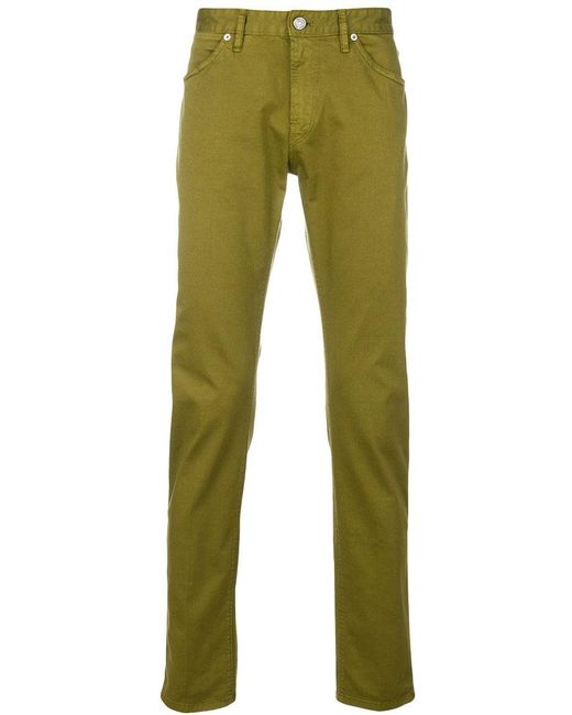 Pt05 - Green Slim-fit Chinos for Men - Lyst