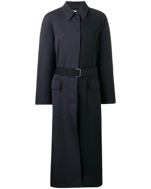 3.1 Phillip Lim - Black Oversized Trench Coat - Lyst