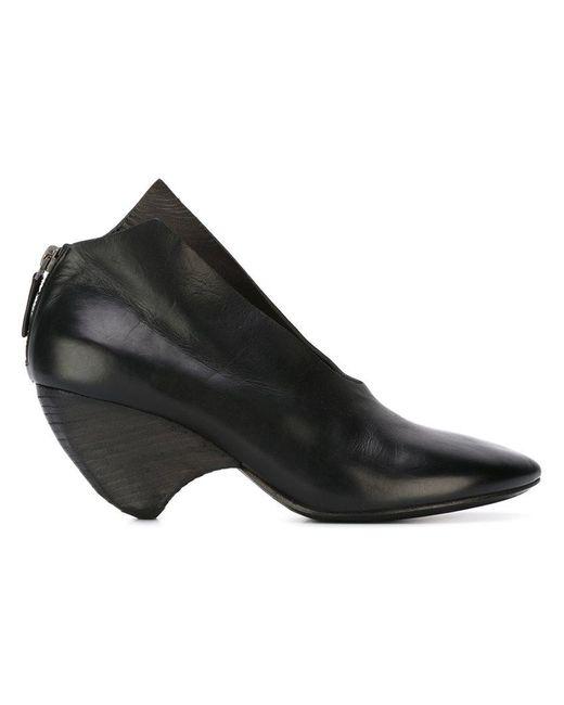 Marsèll - Black Curved Heel Pumps - Lyst